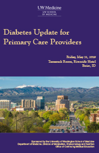 MJ1911 - MJ1911 Diabetes Update for Primary Care Providers (Boise) Banner
