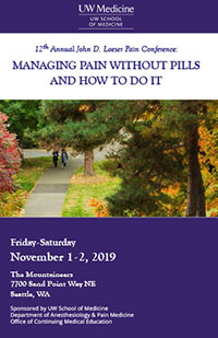 MJ2008 - MJ2008 12th Annual John D. Loeser Pain Conference: Managing Pain Without Pills and How To Do It Banner