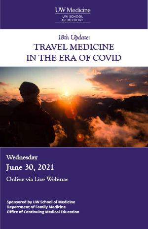 MJ2101 18th Update: Travel Medicine in the Era of COVID Banner