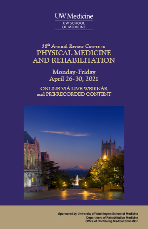 MJ2109 Physical Medicine & Rehabilitation Review Course Banner