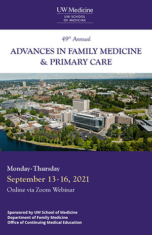 MJ2202: 49th Annual Advances in Family Medicine and Primary Care Banner